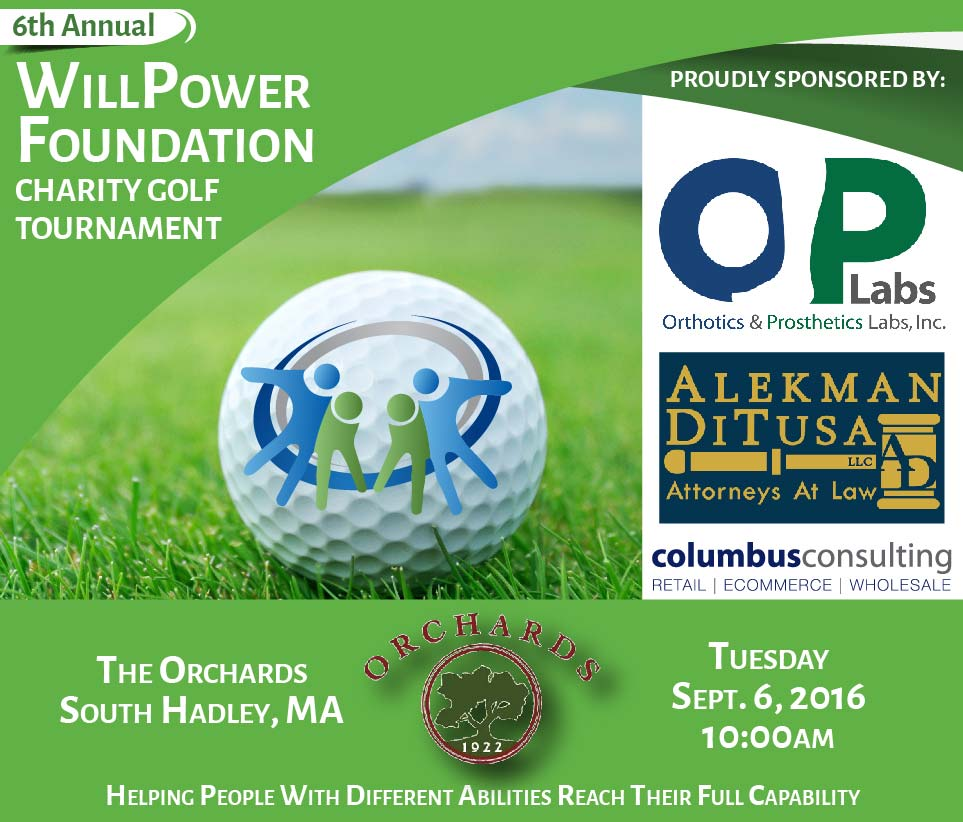 WillPower Foundation 6th Annual Charity Golf Tournament