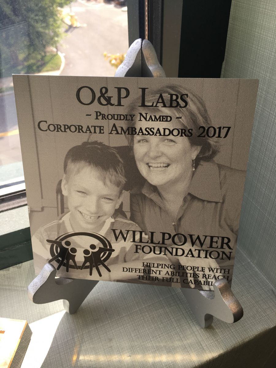 O & P Labs named Corporate Ambassadors