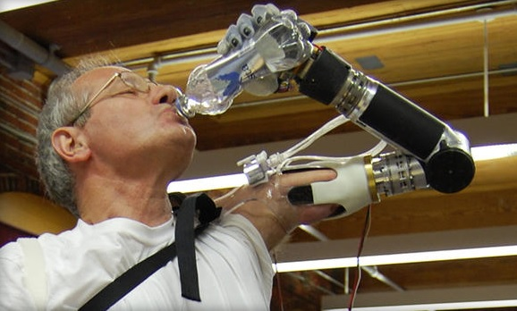 Bionic DEKA Arm, mind-controlled prosthetic, approved by FDA