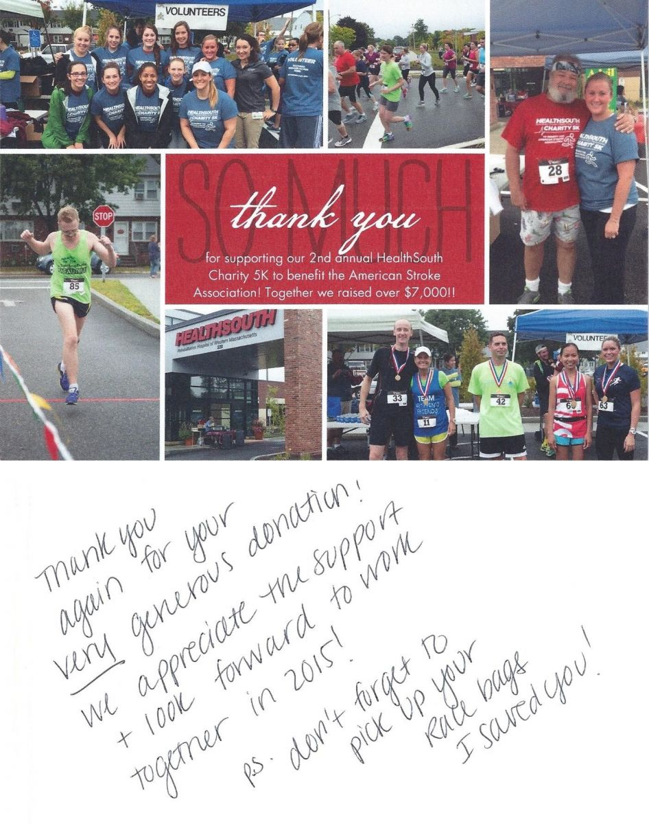 HealthSouth Charity 5K
